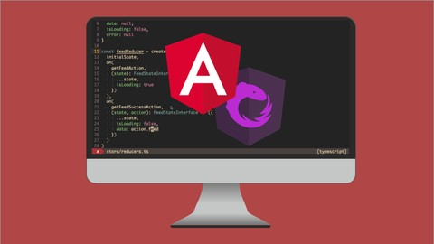 Angular and NgRx - Building Real Project From Scratch Udemy Coupons
