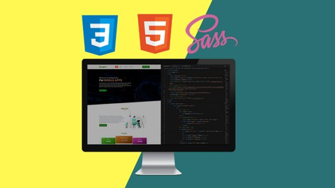 Build Websites With HTML CSS and SASS Beginner To Advanced Udemy coupons