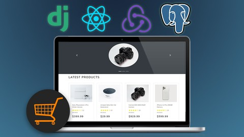 Django with React An Ecommerce Website Udemy coupons