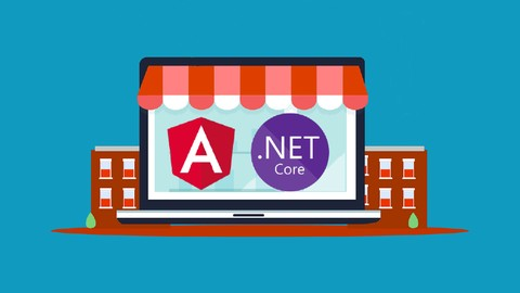Learn to build an e-commerce app with .Net Core and Angular Udemy Coupons