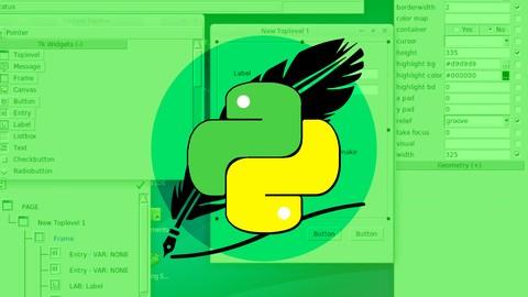 Python Tkinter Masterclass Learn Python GUI Programming Udemy coupons