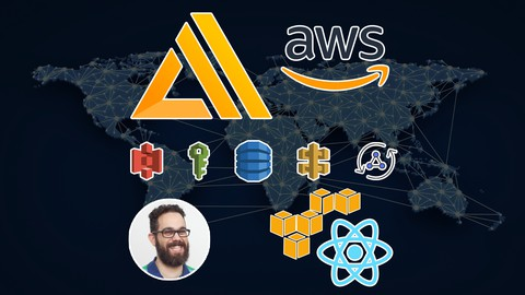React & AWS Amplify build a complete serverless app Udemy coupons