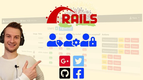 Ruby on Rails Authentication and Authorization Udemy coupons