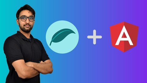 Spring Boot REST & Angular + Full Stack Application! Udemy coupons