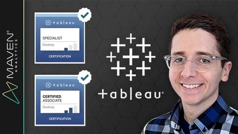 Tableau Certification Prep: Desktop Specialist + Associate Udemy coupons