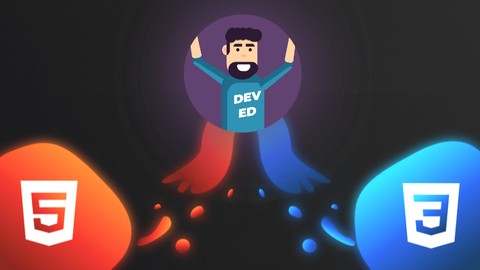 The Creative HTML5 & CSS3 Course - Build Awesome Websites Udemy coupons