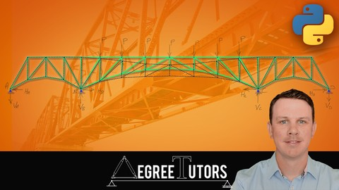The Direct Stiffness Method for Truss Analysis with Python Udemy coupons